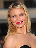 Hollywood, California, USA. 21st Apr, 2014. CAMERON DIAZ arrives for the premiere of the film 'The Other Woman' at the Village theater. © Lisa O'Connor/ZUMAPRESS.com/Alamy Live News - Stock Image - DYMMMX