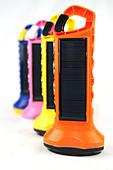 colourful 'BoGo Light ' Solar Paneled torches - Stock Image - BK5JYE