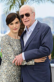 Cannes, France. 20th May, 2015. Rachel Weisz and Michael Caine at photocall for 'Youth' 68th Cannes Film Festival 2015 Palais Du Festival, Cannes, France on 20th May 2015 © James McCauley/Alamy Live News - Stock Image - EPNHFB