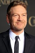 epa04644061 British director Kenneth Branagh arrives for the world premiere of Disney's 'Cinderella' at the El Capitan Theatre Hollywood, Los Angeles, California, USA, 01 March 2015. The movie opens in US theaters on 13 March 2015.  EPA/NINA PROMMER - Stock Image - EH1CMT