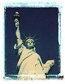 Statue of Liberty, New York, USA - Stock Image - ABC575