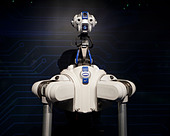 Robbie the DARPA ARM Program robot - Stock Image - D30XPE