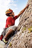 Climbing - Stock Image - BX66BX