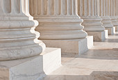 Supreme court building - Stock Image - BGYH14