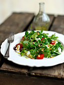 Goats Cheese Salad - Stock Image - C1BB1K