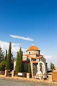 All Saints Chapel, Stavrovouni Monastery, Cyprus - Stock Image - E9YYTB