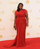 Los Angeles, California, USA. 25th Aug, 2014. 'Mom' actress OCTAVIA SPENCER attends the 66th Annual Primetime Emmy Awards -Arrivals held at the Nokia Theatre. © D. Long/Globe Photos/ZUMA Wire/Alamy Live News - Stock Image - E6MG47