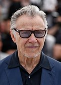 epa04757836 US actor Harvey Keitel poses during the photocall for 'Youth' at the 68th annual Cannes Film Festival, in Cannes, France, 20 May 2015. The movie is presented in the Official Competition of the festival which runs from 13 to 24 May.  EPA/IAN LANGSDON - Stock Image - EPYCDD