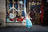 London, UK. 6th Nov, 2014.  Hamleys Window Christmas Display Launch 2014 © Guy Corbishley/Alamy Live News - Stock Image - EA3577