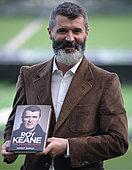Dublin, Ireland. 9th October, 2014. Former Republic of Ireland and Manchester football player, Roy Keane, presents a new publication of his autobiography, The Second Half, at Aviva stadium, Dublin, Ireland. © NurPhoto.com/Alamy Live News - Stock Image - E8K5YF