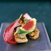 Collioure open sandwich - Stock Image - C8AM90