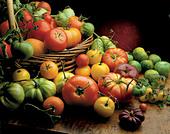 tomatoes - Stock Image - AR6JDX