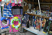Little shop on the streets of Sukhumi (Abkhazia) - Stock Image - AA9YP3