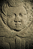Angel, part of tombstone - Stock Image - CEAPGN