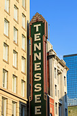 Tennessee Theater on Gay Street, Knoxville, Tennessee, United States of America, North America - Stock Image - D6JG4K