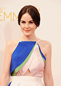 MICHELLE DOCKERY  UK film and TV actress in August 2014. Photo Jeffrey Mayer - Stock Image - E7PJK2