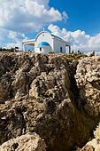 Ayii Anargyri Chapel. Cape Greco, Cyprus - Stock Image - EANBGK