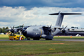 Airbus A400M Atlas military transport aircraft. - Stock Image - D5842M