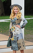 London, UK. Paloma Faith  at Burberry Prorsum fashion show : Spring/Summer 2015 - arrivals, during London Fashion Week. 15th Sep - Stock Image - E7HE2A