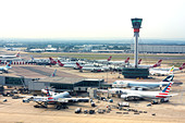 London Heathrow Airport - Stock Image - DANEHC