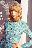 TAYLOR SWIFT  US Country singer in September 2014. Photo Jeffrey Mayer - Stock Image - E7PK61