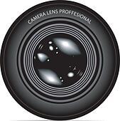 camera lens vector illustration - Stock Image - DNNKFF