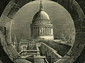 ST. Paul London, 1878 - Stock Image - A8APPD