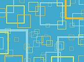Retro squares background - Stock Image - DNP2JJ
