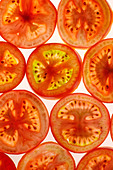 TOMATOES BACKGROUND - Stock Image - AK7PDR