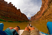 Cove Canyon, Colorado River, Glen Canyon National Recreation Area, Utah USA - Stock Image - D72CA6