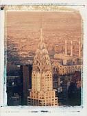 Chrysler Building, New York City, USA - Stock Image - AD1B8G