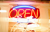 Open Sign - Stock Image - B6C7TH