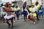 Street carnival in the historical centre of Havana, Cuba. - Stock Image - C93GPA