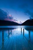 Lake Rotoiti, South Island, New Zealand - Stock Image - BGP9PB