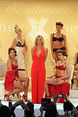 New York, New York, USA. 9th Sep, 2014. Britney Spears and models debut her signature sleepwear collection 'The Intimate Britney Spears' held at the The New York Public Library's Celeste Bartos Forum during New York Fashion Week. © Nancy Kaszerman/ZUMA Wire/Alamy Live News - Stock Image - E79HYF