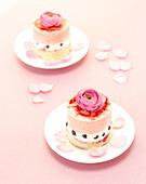 Wedding cakes - Stock Image - AH9361